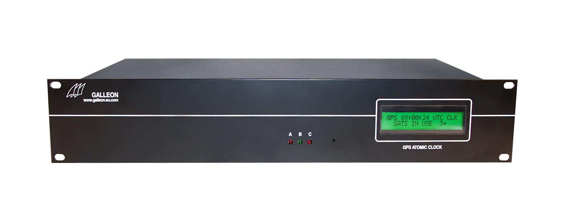 Rack mount 2U GPS Clock and NTP Software