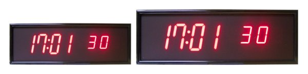 Large Digital Clocks